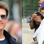 ញ៉ាក់សាច់!! តារាបែកស្លុយ Justin Bieber បបួលតារាសម្ដែង Tom Cruise វ៉ៃដាក់ទ្រុង UFC